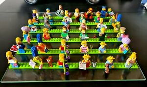 LEGO Simpsons Minifigures Series 1 And 2 Complete + simpsons house figures 71006