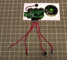120s 3-BUTTON RECORDABLE chip voice module music sound push speaker talking