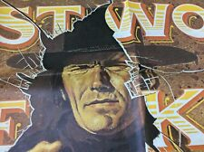 JOE KIDD Huge 3 Sheet Original  Movie Poster 1972 CLINT EASTWOOD