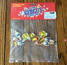 K-Line Circus Collection New Sealed Circus Acrobats Clowns Vintage k-41712