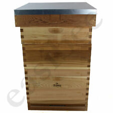 Dadant Bee Hive Bee Keeping Cedar 2 Super 1 Brood Beekeeping Beehive Easibee