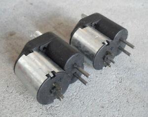 RC Car Parts Lot of 2 Motors 16050730 Unused Old Stock Look