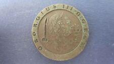 Gran Bretagna 2 pence cartweel di 1797 Georg III, 55 grammi cosiddetto cospargono (j63)