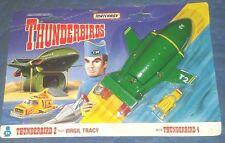 "1992 *** THUNDERBIRD 2 and 4 MOC *** 6"" THUNDERBIRDS VEHICLE MATCHBOX DIECAST"