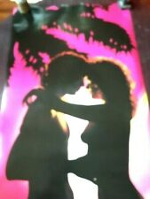 21X62 HUGE 1987 DOOR POSTER LOVERS ROMANCE SILHOUETTE COLORFUL VERKERKE D1