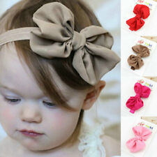 Soft Comfortable  Baby Headband Infant Kids Girl Handmade Ribbon Hair Band Tiara
