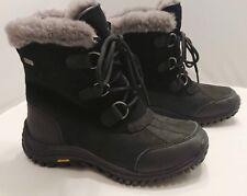 SIZE 6.5 UGG Australia OSTRANDER Women's Boots Warm Waterproof BLACK NEW 1008125