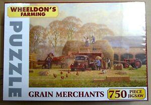 Robin Wheeldon Art : 750 Piece Jigsaw Puzzle of 'Grain Merchants'