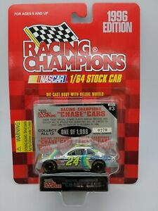 UNOPENED RC Chrome Chase Car 1:64 Jeff Gordon #24 DuPont 1996 Chevy #0270/1996