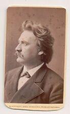 Vintage CDV Eugen Gura German operatic baritone