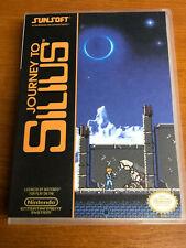 Journey To Silius NES Nintendo Entertainment System Retro Universal Game Box