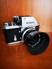 Nikon F Photomic + 50mm f2 + paraluce metallo originale