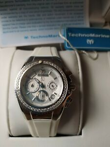 Authentic Original Technomarine Women's Cruise Eva Longoria 34mm Chrono Watch