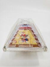 Vintage 1997 Nintendo Super Mario Bros. Decagon Ball Maze Handheld Toy Applause