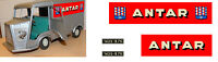"""ANTAR"" SET COMPLET AUTOCOLLANTS STICKERS POUR HY TOLE JRD 1/10 AA138"
