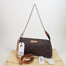 Authentic Louis Vuitton Eva Clutch Monogram M95567 Guaranteed Bag Shoulder LC174
