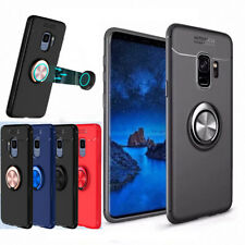 Galaxy S9Plus S8 Note 8 Magnetic Shockproof TPU Case Cover with Ring Car Holder