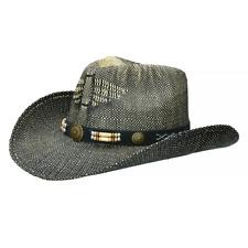Fox Outdoor Texas Hat Straw Cowboy Men Summer Western Men