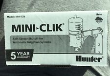 Hunter Mini Clik Rain Sensor For Automatic Irrigation Systems