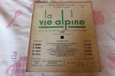 LA VIE ALPINE 27  revue du régionalisme dans les alpe française 1930