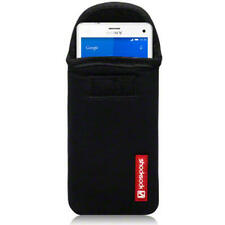 Shocksock Black Neoprene Pouch Case for Sony Xperia Z3 Compact