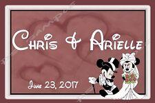4x6 Disney Cruise Door Magnet - WEDDING - NAMES