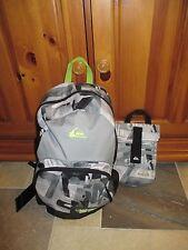 NWT QUIKSILVER Full Size Backpack School, Skate,Surf, & Bonus Lunch Bag