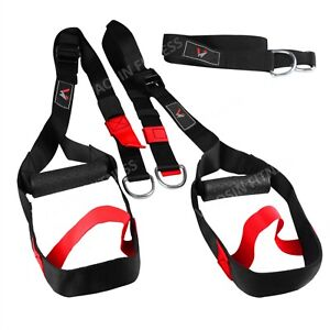 TRX Quality Gym Suspension Trainer Body Trainer Resistance Strength Straps
