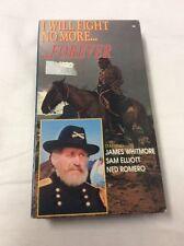 I Will Fight No More - Forever Starring Jame Whitmore Sam Elliott VHS