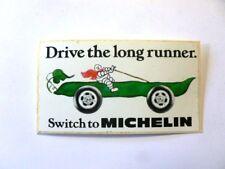 VECCHIO ADESIVO AUTO MOTO / Old Original Sticker OMINO MICHELIN (cm 10 x 5)