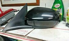 2004-2007 Jaguar XJR XJ8 LH Driver Side Door Mirror Black OEM