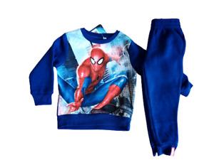 Abbigliamento bambino tuta Spiderman da bimbo 3 8 anni completo felpa pantalone