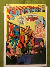Superman 228 FN+ 1970 DC Comics Execution Planet Superman Bleeds