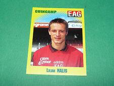 N°109 LILIAN NALIS EN AVANT GUINGAMP EAG PANINI FOOT 98 FOOTBALL 1997-1998