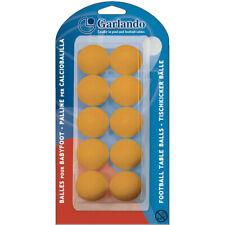 GARLANDO Palline Calciobalilla Standard 33,1mm - 10 pezzi colore ARANCIONE