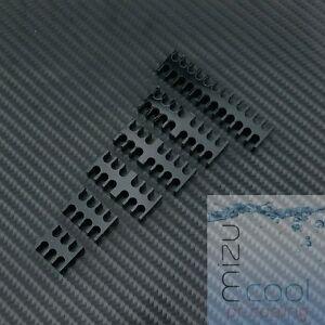 Black Slot Cable Comb Set 4mm Cables Choose 10- Leave Message at Checkout