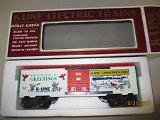 K Line 9004 Seasoning Greeting 1993 Box Car New