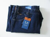BNWT R.M Williams Jeans Mens Size W37, W40, W42 Regular Fit Dark Blue Denim