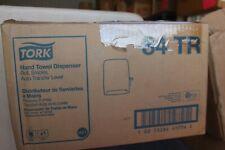Tork Hand Towel Dispenser Smoke 34TR Plastic