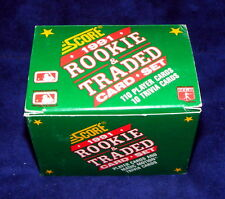 NEW 1991 SCORE Rookie & Traded Card Set 110 Player 10 World Series Motion Trivia