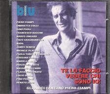 PIERO CIAMPI - RARO CD LIVE  ( RENATO ZERO NADA FLAVIA FORTUNATO PAOLA TURCI )