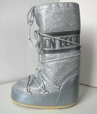 Tecnica MOON BOOT DELUX silber  Gr. 31 - 34  Moon Boots Moonboots silver