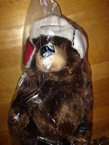New 2013 Amazon Gund Christmas Holiday Bear with Tags In Bag Plush Toy