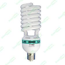 125w Blue Spectrum 6400k CFL daylight hydroponic grow light lamp bulb GES E40