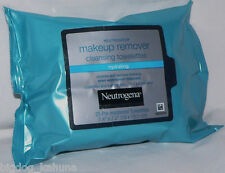 25 Neutrogena Hydrating Make Up Remover Cleansing Wipes Pads Cloths Towelettes