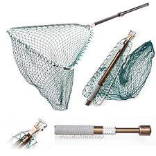 "McLean Telescopic Hinged Handle Tri Weigh 21""Trout Fishing Landing Net (MLFW)"