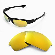 New WL Polarized 24K Gold Replacement Lenses For Oakley Bottlecap Sunglasses
