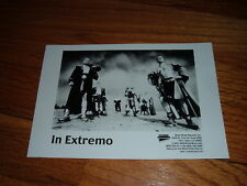 IN EXTREMO Press/Promo Photo Heavy Metal Germany Folk German Promotional Rock
