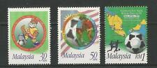 MALAYSIA 1997 WORLD YOUTH FOOTBALL CHAMPIONSHIPS SG,649-651 U/M N/H LOT 1655A