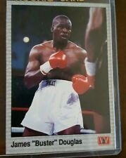 1990 AW JAMES BUSTER DOUGLAS PROMO PROTOTYPE SAMPLE CARD BOXING BOXER CHAMP # 13
